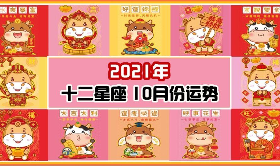 星座寶寶【12星座10月份運勢】